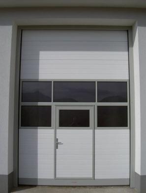 DITEC iparikapu Személyi közlekedő ajtó, panoráma szekció.., megoldjuk